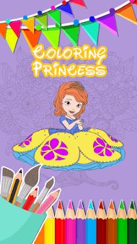 Sofia Princess Coloring Book pc screenshot 2