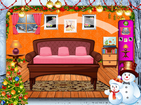 Christmas Interior House Decoration Party pc screenshot 1
