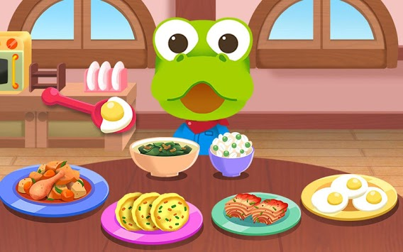 Pororo eating game - Kids Healthy Eating Habits pc screenshot 1