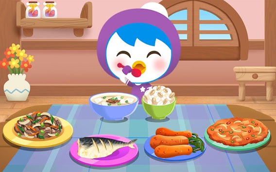 Pororo eating game - Kids Healthy Eating Habits pc screenshot 2
