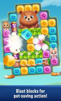 Pet Rescue Puzzle Saga pc screenshot 1