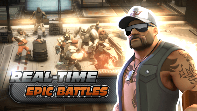 Alpha Squad 5: RPG & PvP Online Battle Arena pc screenshot 1