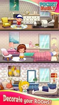 Pocket Family: Play & Build a Virtual Home pc screenshot 2