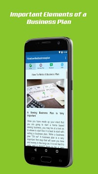 How To Write A Business Plan pc screenshot 1