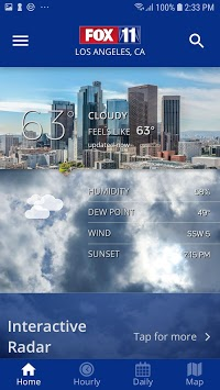 FOX 11: LA KTTV Weather pc screenshot 1