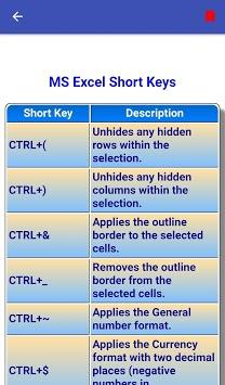 Offline Excel Course   Excel Tutorial pc screenshot 1