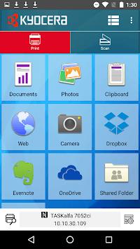 KYOCERA Mobile Print pc screenshot 1