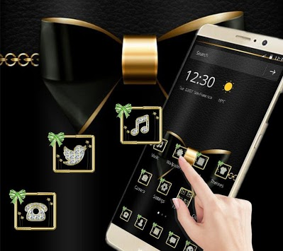 Black Golden Business Luxury Theme pc screenshot 1