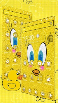 Glittering Yellow Bird Cartoon Theme🐥 pc screenshot 2