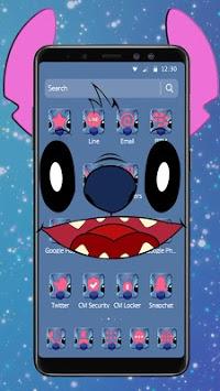 Cute Blue Devil Cartoon Theme🐨 pc screenshot 2