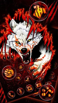 Blood Wolf Themes Live Wallpapers pc screenshot 1