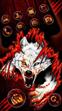 Blood Wolf Themes Live Wallpapers pc screenshot 2