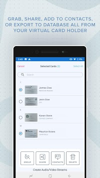 Business Card Scanner with OCR pc screenshot 2