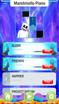 Magic Marshmello Piano Game pc screenshot 2
