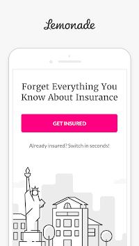 Lemonade: Renters & Homeowners Insurance pc screenshot 1
