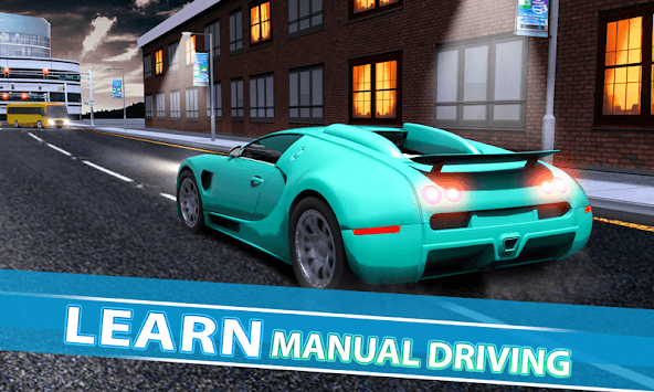 Real Car Driving With Gear : Driving School 2019 pc screenshot 1