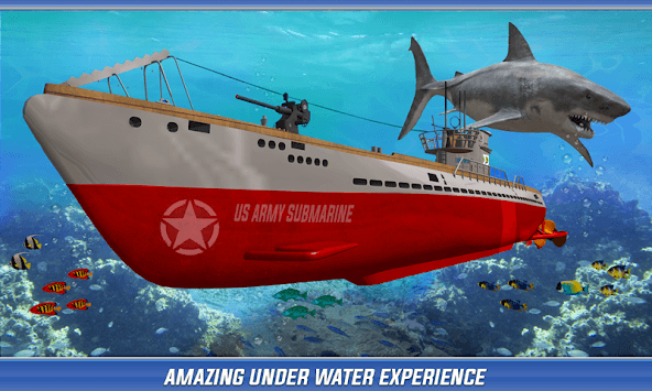 US Army Submarine Simulator : Navy Army War games pc screenshot 1