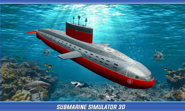 US Army Submarine Simulator : Navy Army War games pc screenshot 2