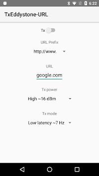 Eddystone URL Broadcaster pc screenshot 1
