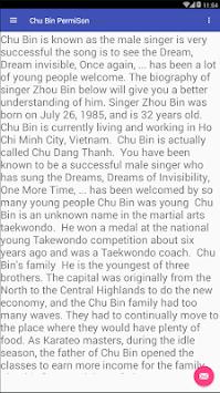 Chu Bin PermiSon pc screenshot 1