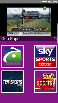 Live Cricket TV HD, PTV Sports, live express news pc screenshot 1