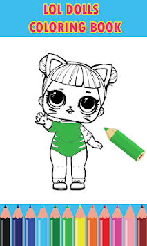 Dolls Surprise Coloring Pages Lol pc screenshot 1