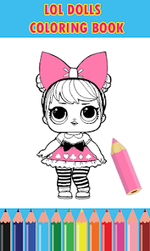 Dolls Surprise Coloring Pages Lol pc screenshot 2