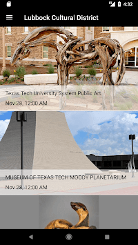 Lubbock Cultural Events pc screenshot 1