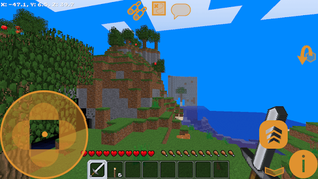 Lucky in craft: Building adventure block pc screenshot 1