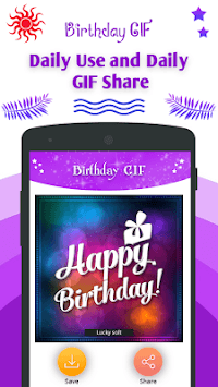 Birthday GIF image pc screenshot 1