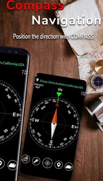 Smart Compass for Android pc screenshot 1