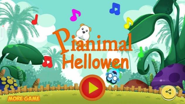 Pianimal - Piano Animals Helloween pc screenshot 1