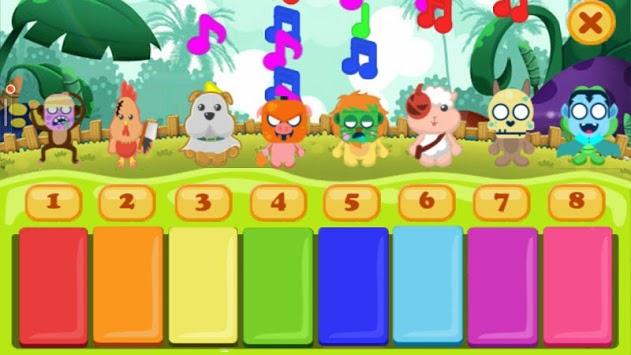 Pianimal - Piano Animals Helloween pc screenshot 2