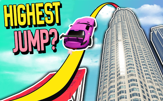 Ramp Car Jump Stunts pc screenshot 2
