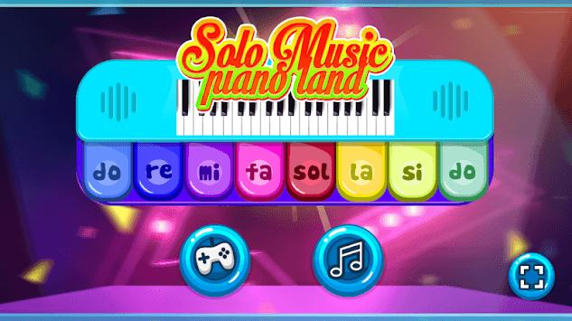 Magic Solo Music Piano Land School Games pc screenshot 1