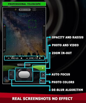 Magnifying Zoom Telescope OPTI camera 7x45 pc screenshot 1