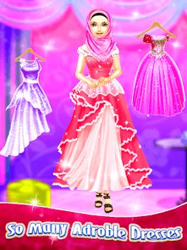 Hijab Fashion Style - Doll Makeup Salon pc screenshot 1