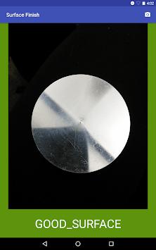 Surface Finish Inspection pc screenshot 1