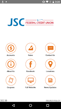 JSC FCU Mobile pc screenshot 1
