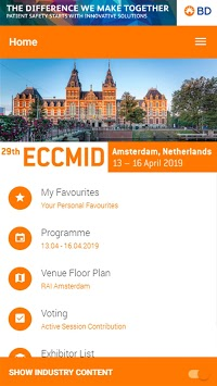 ECCMID 2019 pc screenshot 1