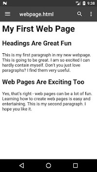 Local HTML Viewer pc screenshot 1
