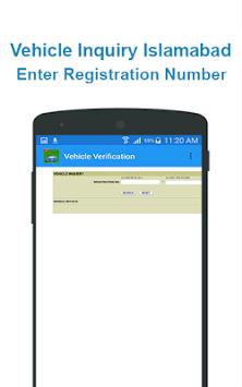 Online Vehicle Verification pc screenshot 1