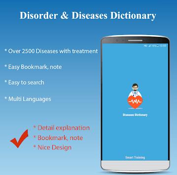 Diseases Treatments Dictionary (Offline) pc screenshot 1