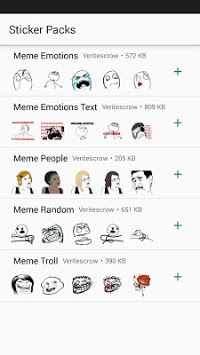 MEME WhatsApp Stickers DEPI MegaPack pc screenshot 2