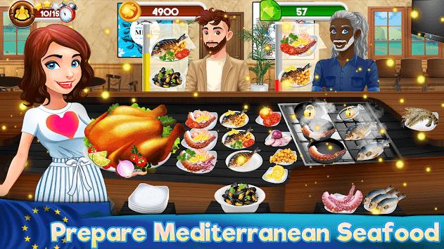 Cooking Kitchen Chef - Restaurant Food Girls Games pc screenshot 1