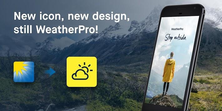 WeatherPro: Forecast, Radar & Widget pc screenshot 1