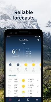 WeatherPro: Forecast, Radar & Widget pc screenshot 2