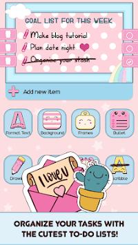 Cute Sticky Notes Widget pc screenshot 1