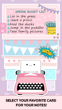 Cute Sticky Notes Widget pc screenshot 2