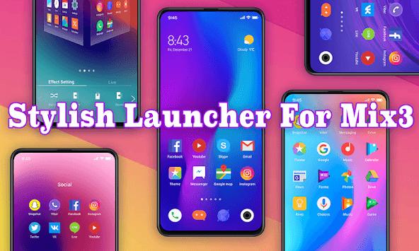 MIX Launcher 2019 pc screenshot 1